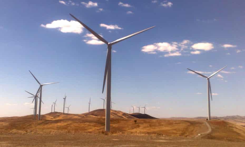 South Australian windfarm