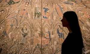 'Not exactly vox populi'... Opus Anglicanum: Masterpieces of English Medieval Embroidery at the V&A.
