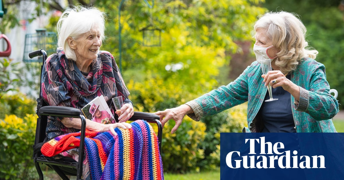 Some English care homes to delay allowing hand-holding on visits