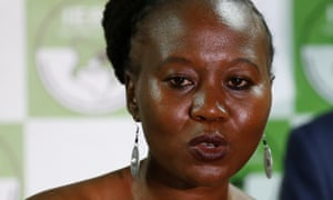 Roselyn Akombe pictured in July