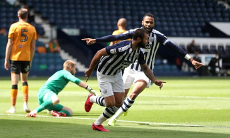 Ahmed Hegazi scores then sees red as West Brom make hard work of Hull win