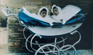 Charlie's mother Jacqui and her twin sister, Pauline