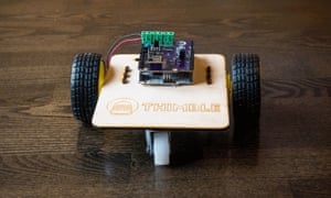 """Thimble will send subscribers a monthly """"Maker Box"""" that will teach users to build and assemble various projects, like a wifi-robot, LED cube or quadcopter."""