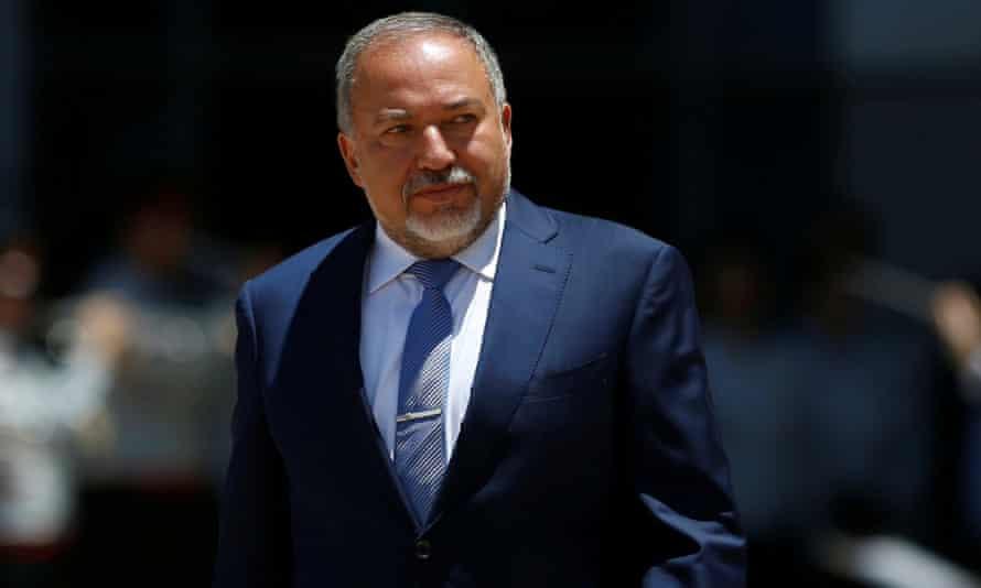 Avigdor Lieberman, the Israeli defence minister: