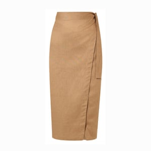 Linen, £150, by Reformation, from net-a-porter.com.