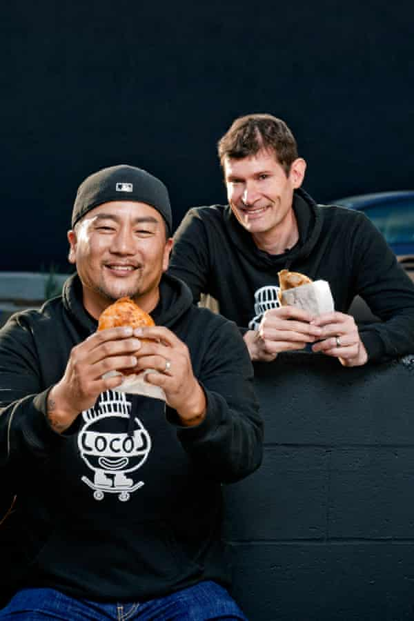 Roy Choi and Daniel Patterson of LocoL