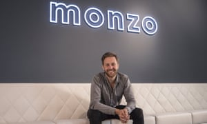 Tom Blomfield, CEO and co-founder of Monzo.