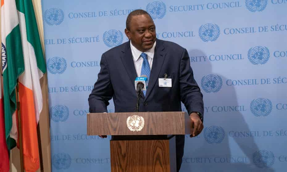 Uhuru Kenyatta is one of 35 current and former leaders who feature in the leak.
