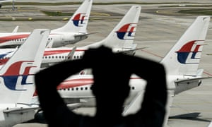Malaysia Airlines' aircraft in Kuala Lumpur