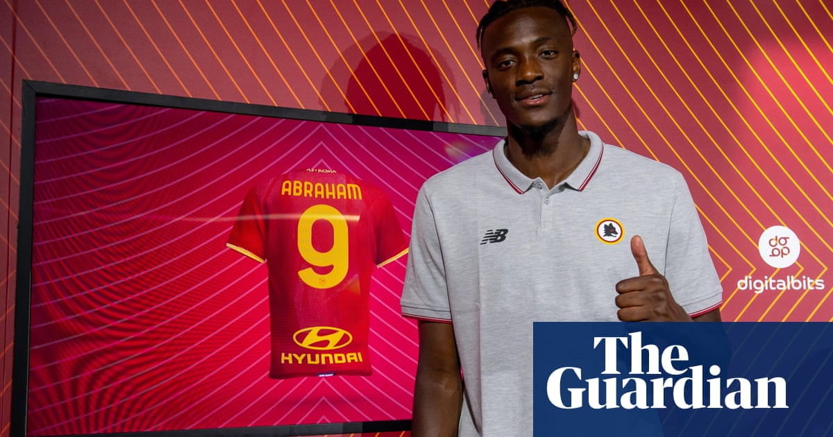 Tammy Abraham completes £34m move from Chelsea to Roma