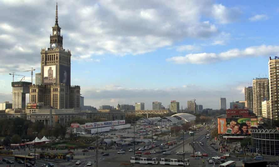 Palace of Culture in Warsaw.