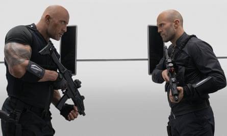 Dwayne Johnson and Jason Statham