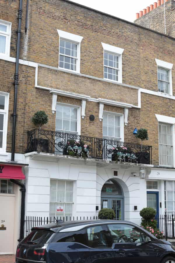 The property, 30 Harcourt Street, is just to the north of Mayfair in central London.