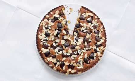 Fergus Henderson's fig and almond tart.