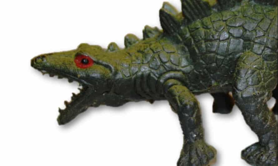 Rubber Stegosaurus