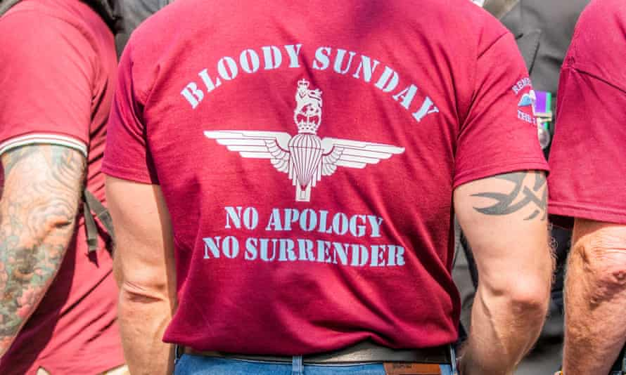 Veterans protest against persecution of 'Soldier F'