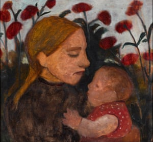 Girl with child, 1902, by Paula Modersohn-Becker.