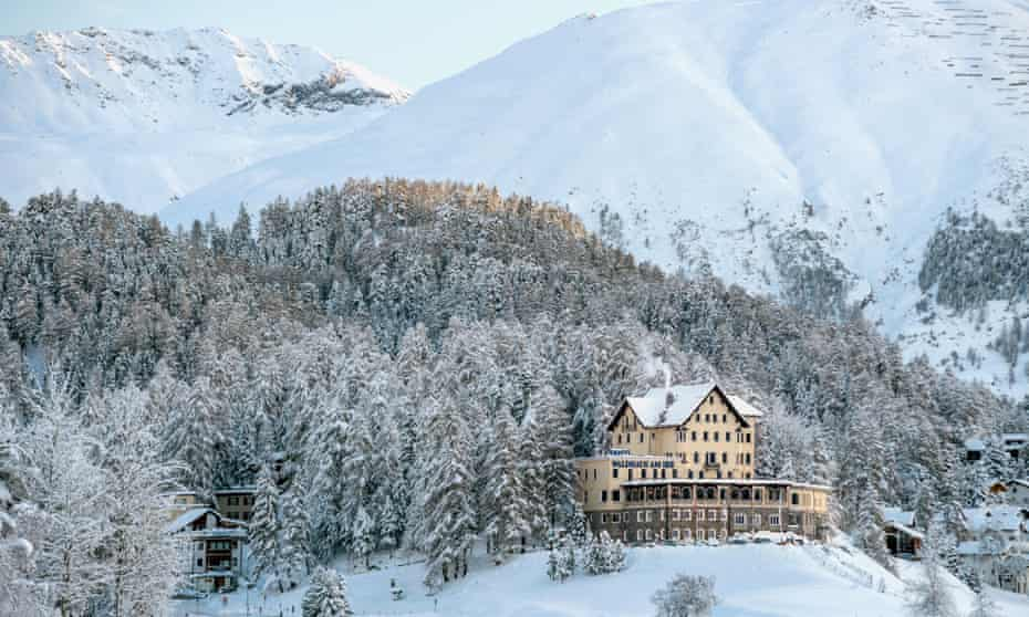 The Last is set in a remote Swiss hotel …