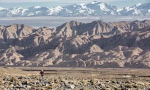 The inaugural 2015 Ultra Trail Gobi race.
