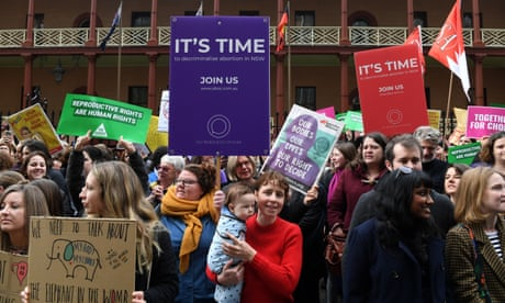 'Arrest us': women who have had abortions speak out to support NSW decriminalisation