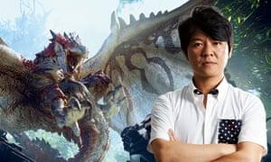 Capcom's Ryozo Tsujimoto, executive producer on the Monster Hunter series.