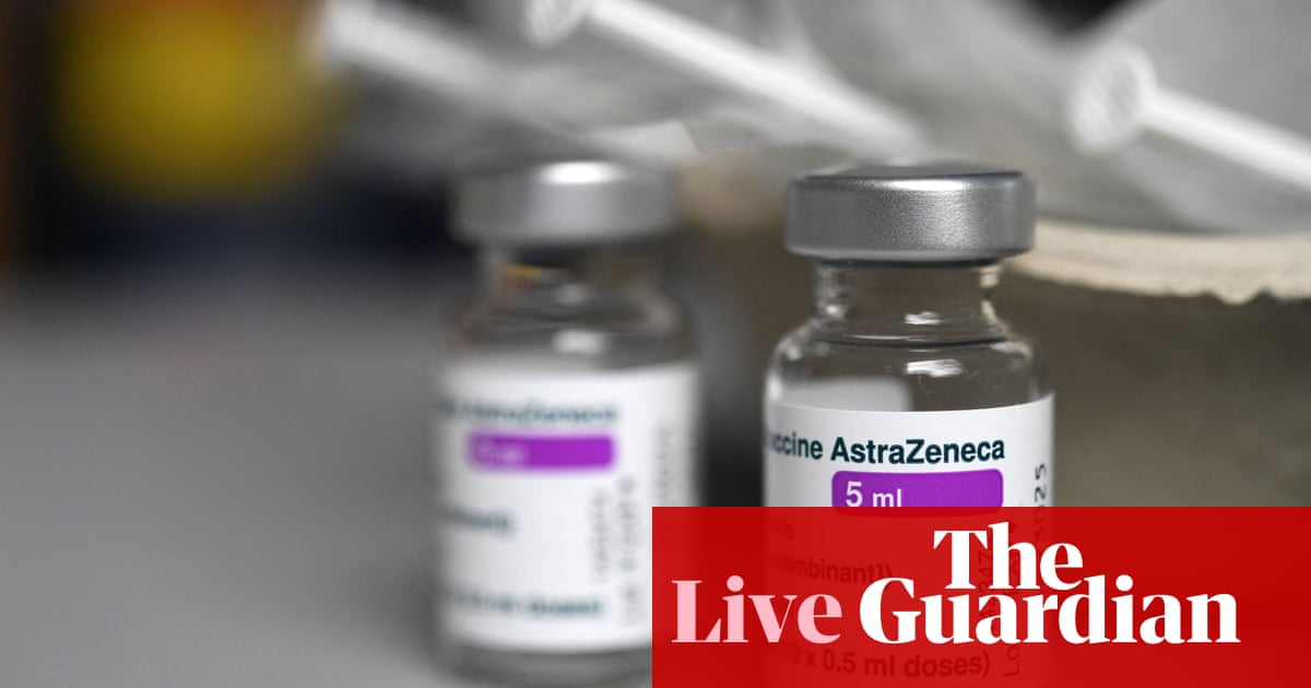 Coronavirus live news: AstraZeneca reports vaccine shortfall to EU; Sydney hotel quarantine worker tests positive