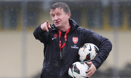 'I still see a good defender as being as pure as a good No10. But it has to be taught. It has to be practised', says former Arsenal academy coach Terry Burton.