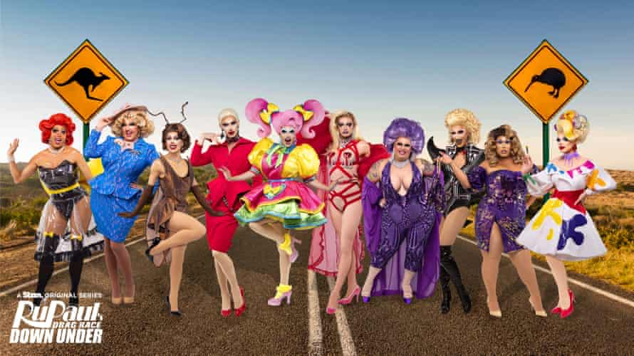 The Australia and New Zealand cast of Drag Race Down Under