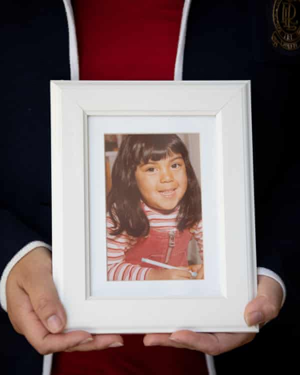 Maria Diemar when she was five years old.