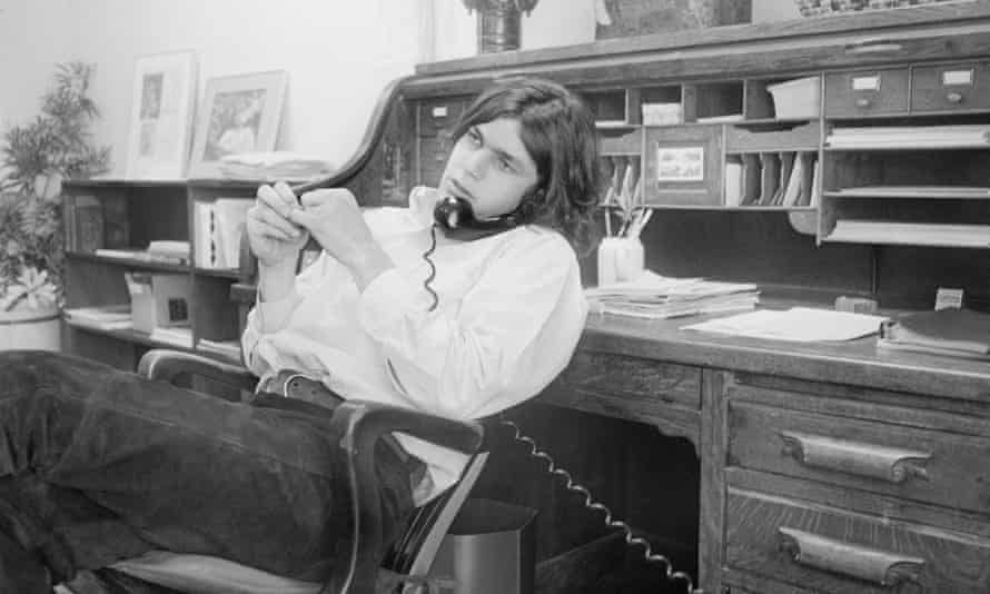 In the 1960s business … Jann Wenner in 1970.