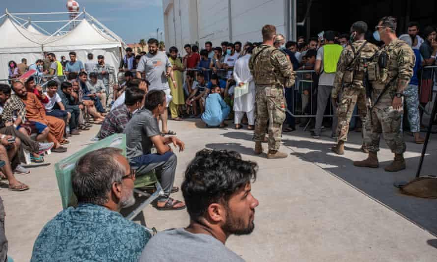 Afgans just arrived at Sigonella.