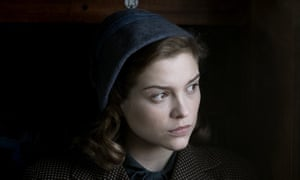 Sophie Cookson as the younger Joan