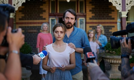 Jenna Coleman with Ewen Leslie in The Cry.