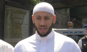 Imam Mohammed, who has hailed for his bravery in calming the situation in the moments following the attack last night, speaking in Finsbury Park today