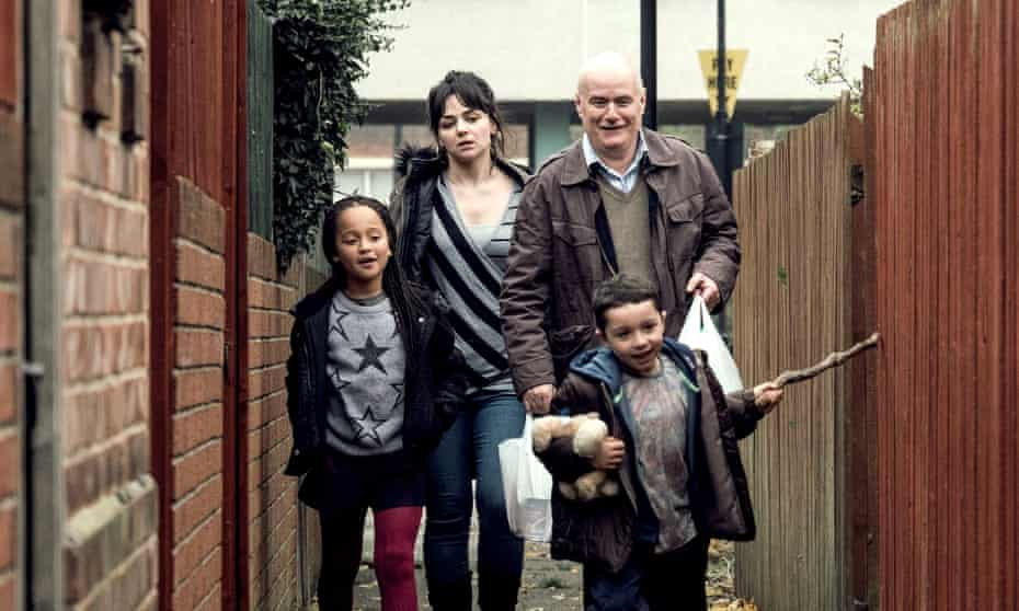 Hayley Squires and Dave Johns in I, Daniel Blake