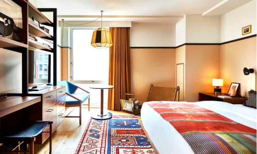 Room at Eaton hotel, Washington DC.