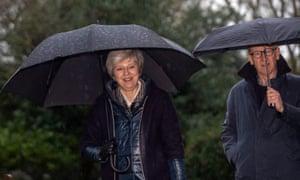 Theresa and Philip May.