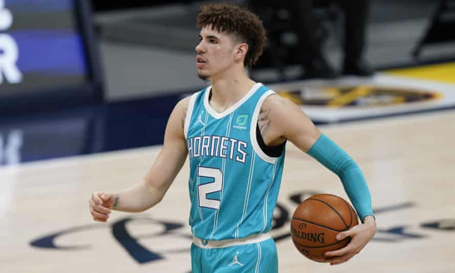 LaMelo Ball was enjoying a brilliant rookie season for the Charlotte Hornets