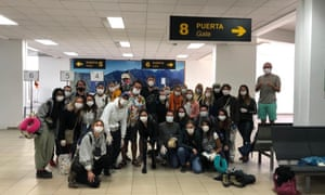 Ten Britons and a UK resident who had been stranded by the coronavirus lockdown in the Peruvian city of Cusco for more than a month have now left Lima