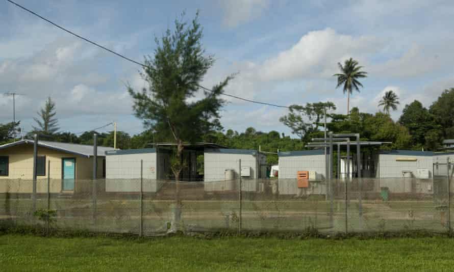 A refugee facility on Manus Island