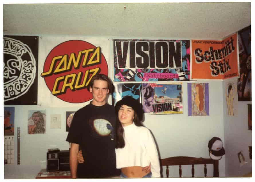 Ed and Deanna, Huntington Beach, California, 1988