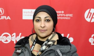 Maryam al-Khawaja in the States in 2014.