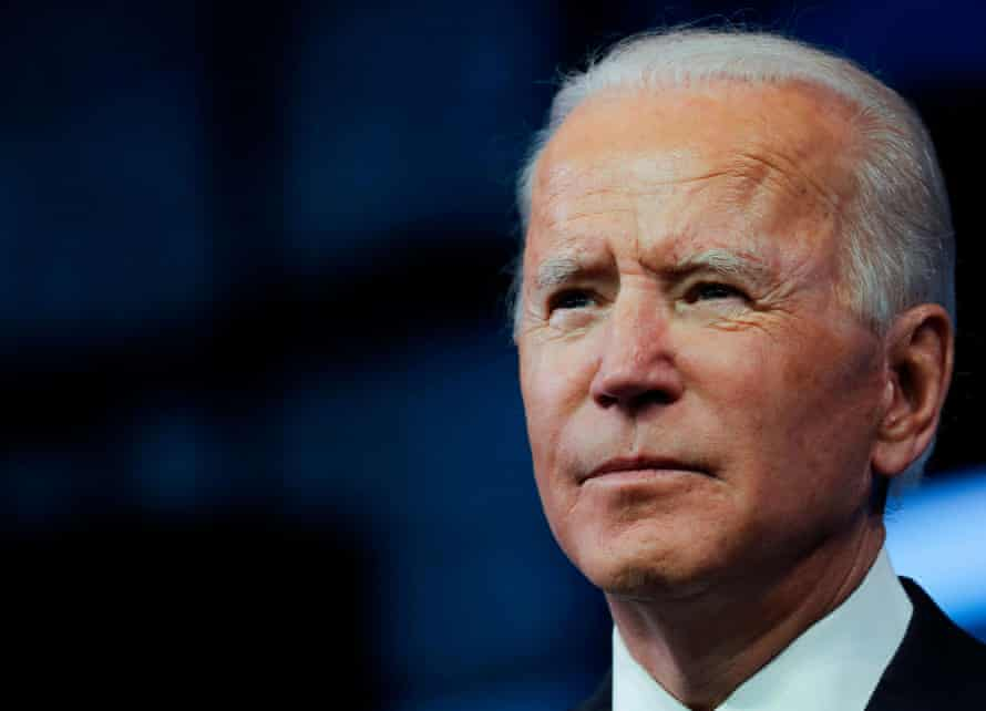 Joe Biden expressed concern the US was not doing enough to deter cyberattacks in the first place.