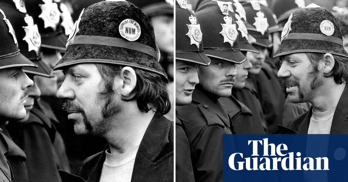 Two images of the miners' strike, an instant apart: so which is the classic?
