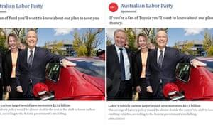 Labor's response ads