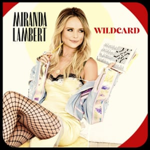 Miranda Lambert: Wildcard album art work