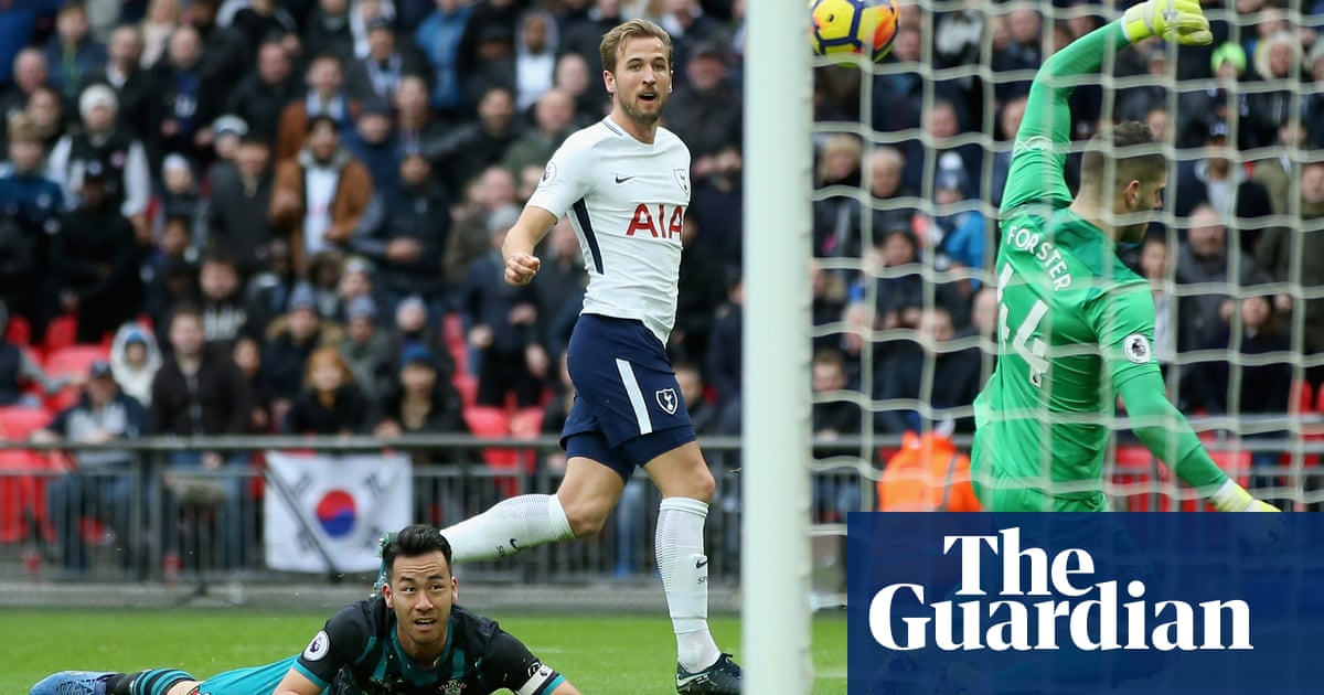 7c9283ce038 Harry Kane breaks record in style as Tottenham brush aside Southampton
