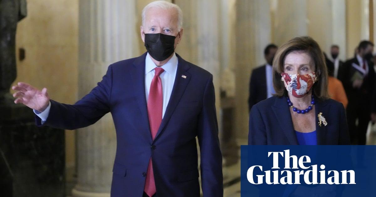Pelosi shifts infrastructure bill deadline to 31 October amid Biden frustration