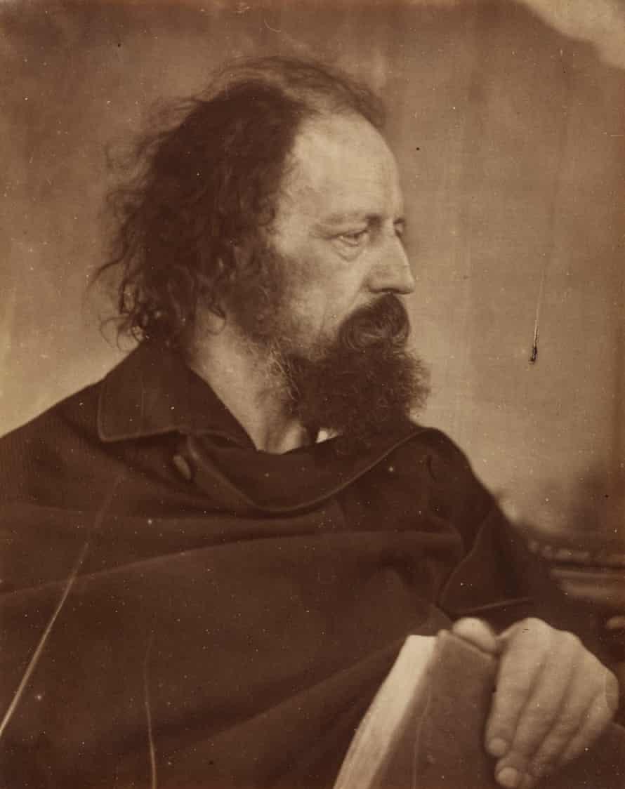 Julia Margaret Cameron's portrait of Alfred Lord Tennyson.