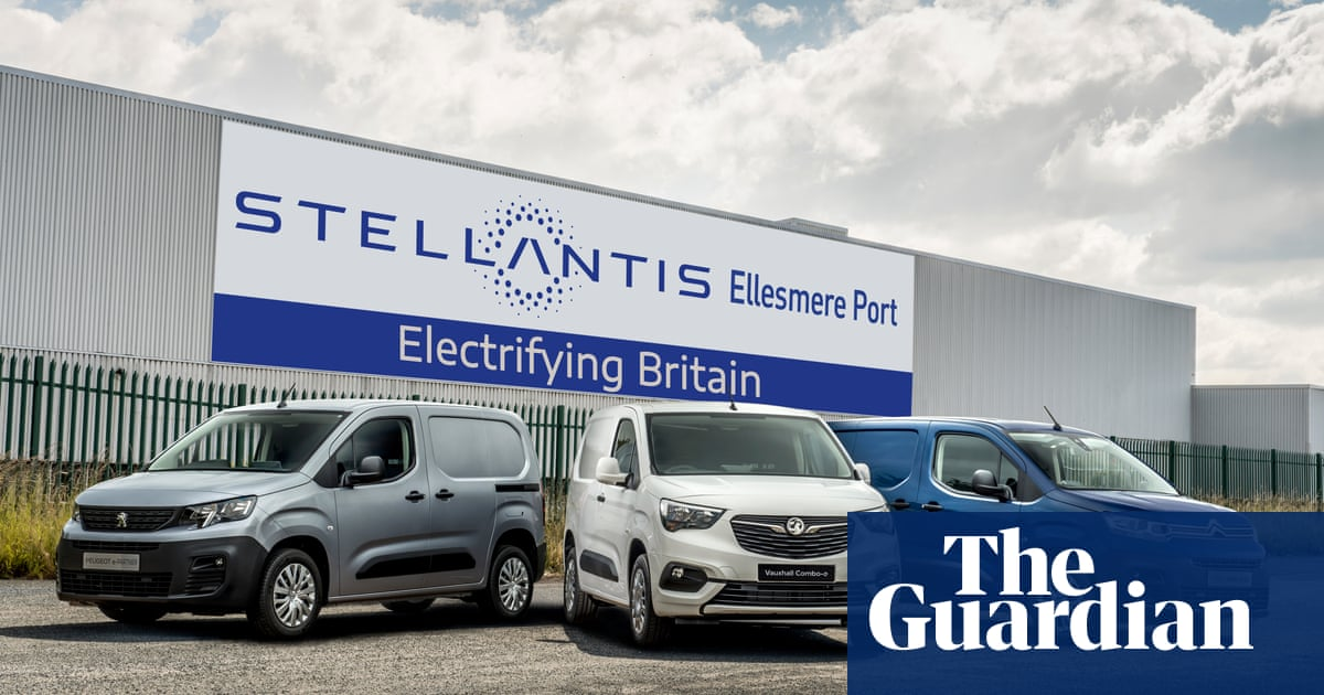 Vauxhall owner to invest £100m to build electric vehicles at Ellesmere Port